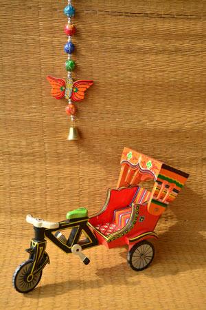 Toy Cycle Rickshaw