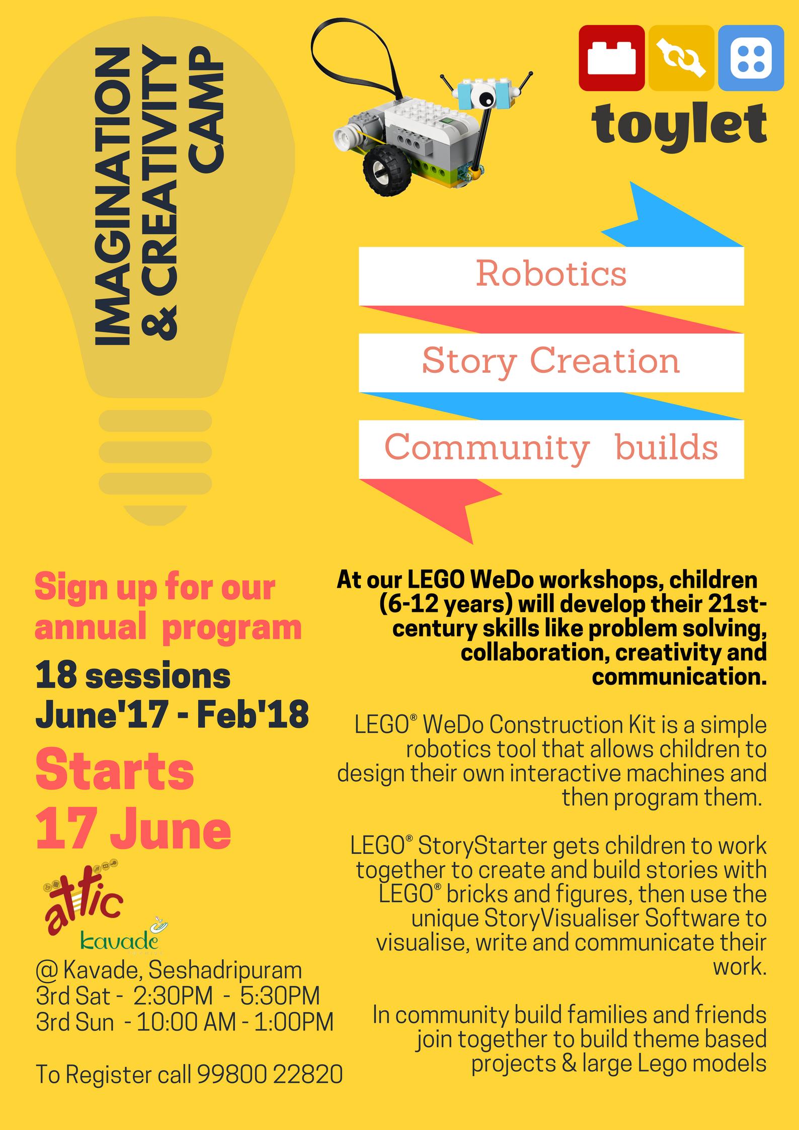 Lego Wedo workshop