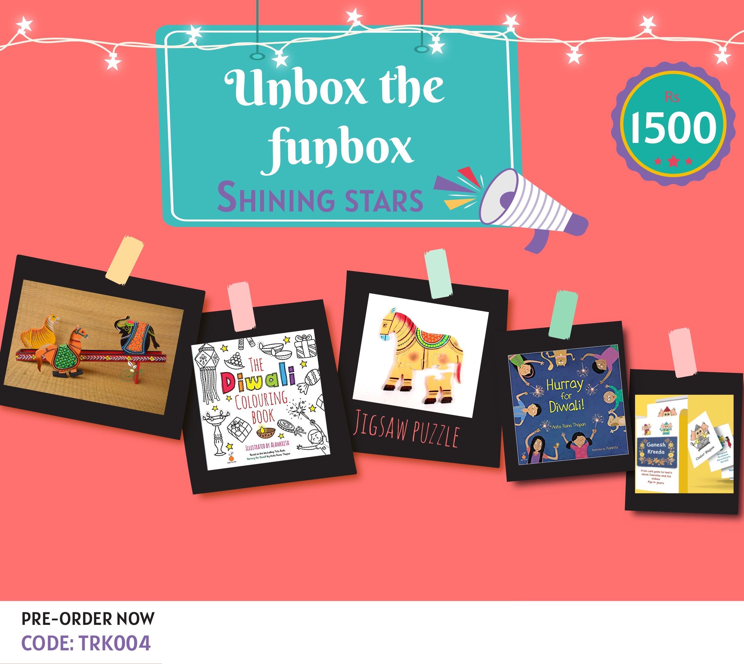 Giftbox Shining Stars [TRK 004]