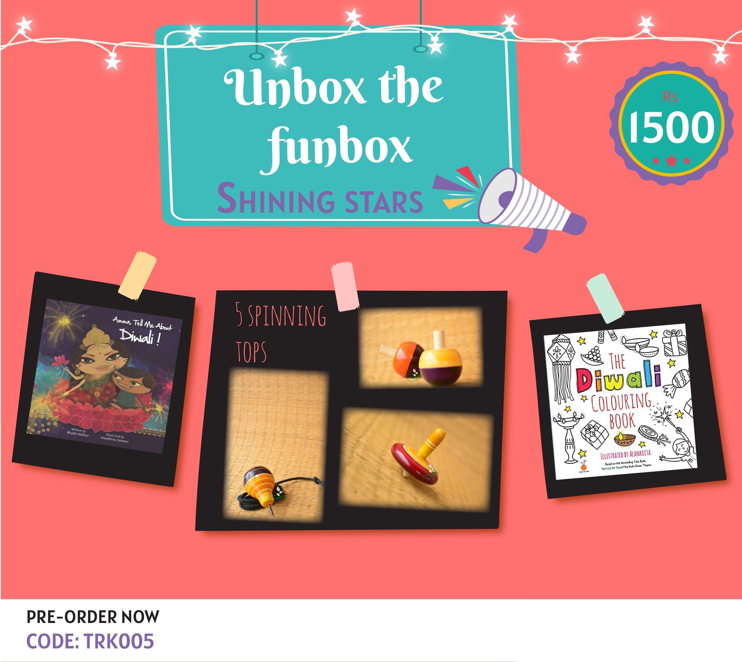 Giftbox Shining Stars [TRK 005]