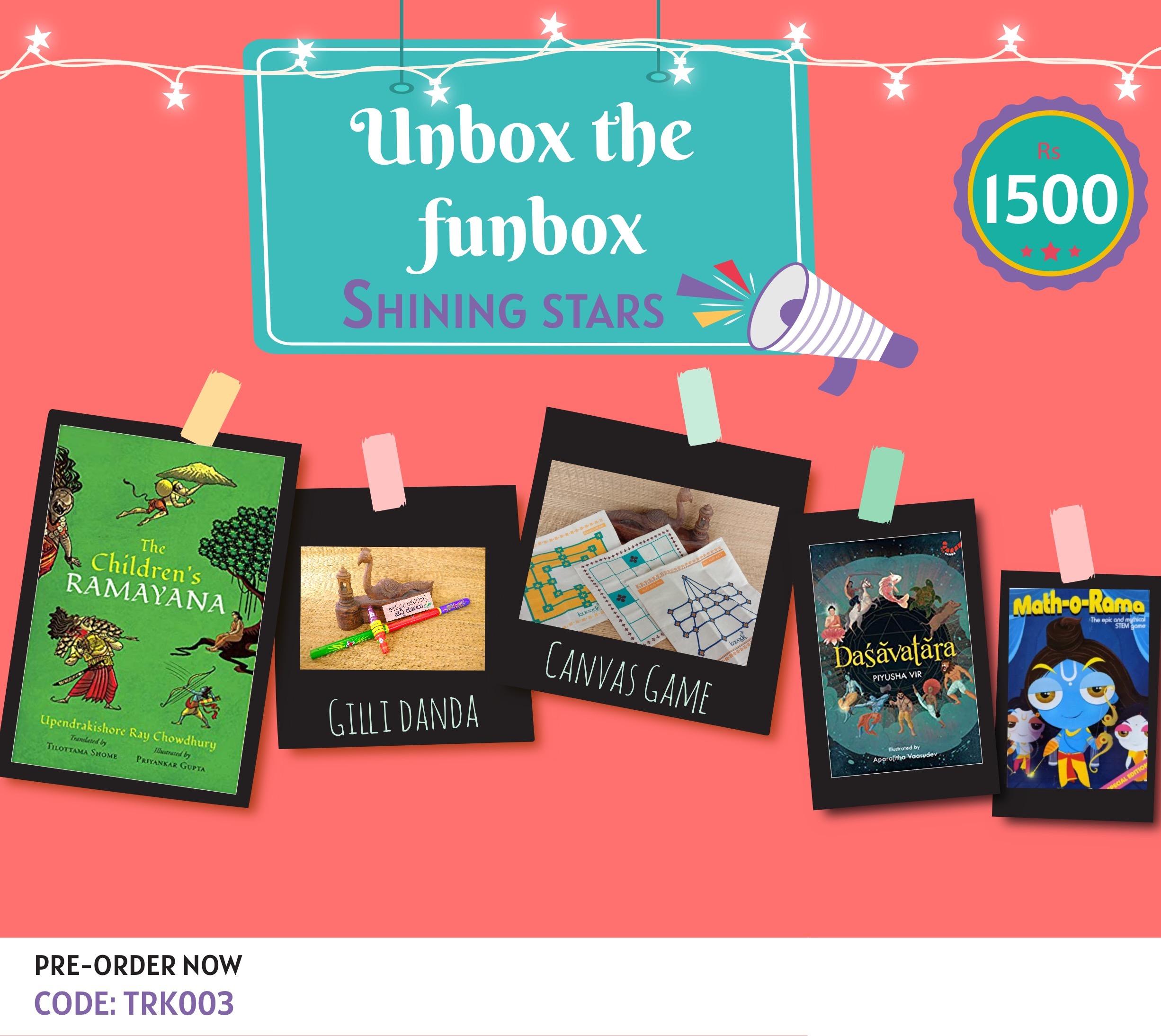 Giftbox Shining Stars [TRK 003]