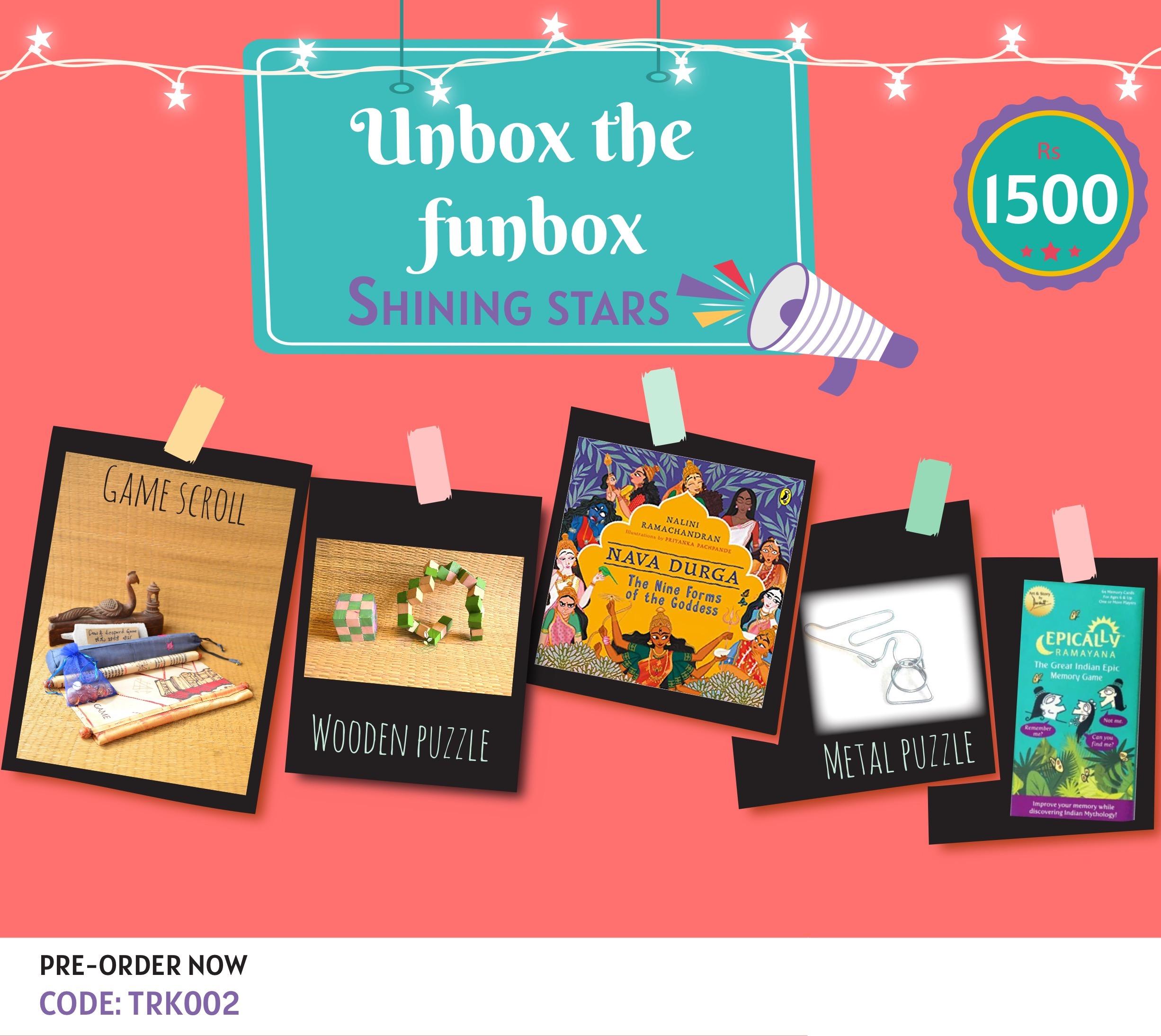 Giftbox Shining Stars [TRK 002]