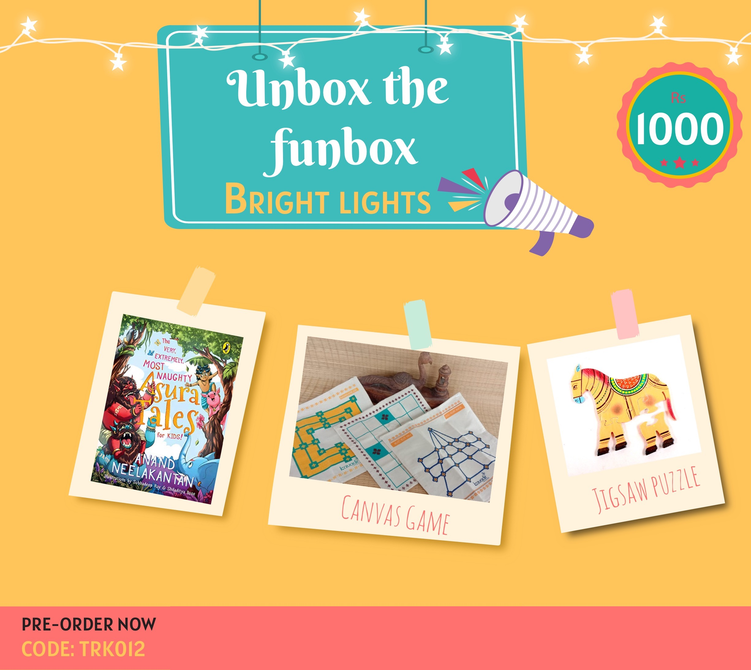 Giftbox Bright Lights [TRK 012]