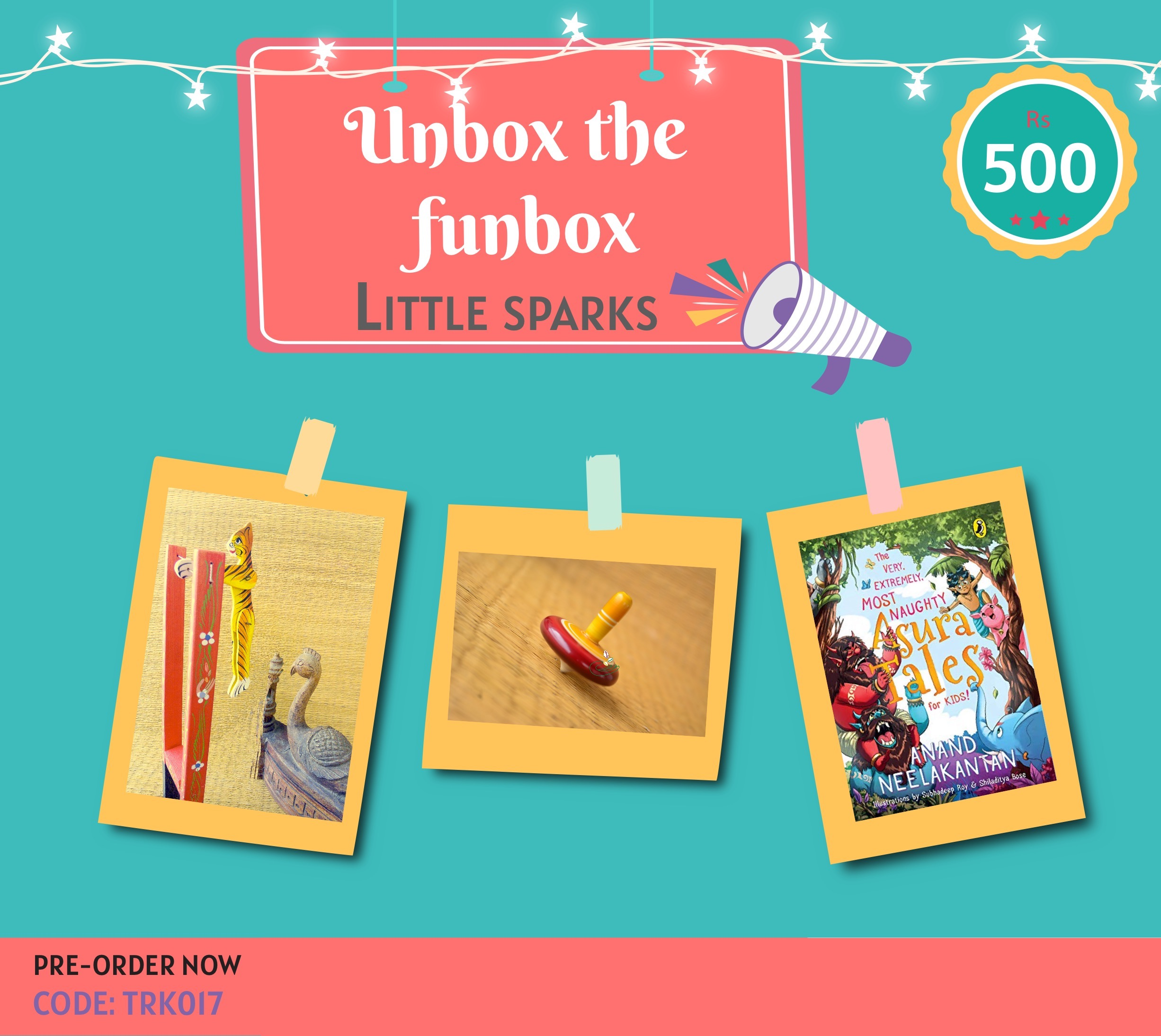 Giftbox Little Sparks [TRK 017]