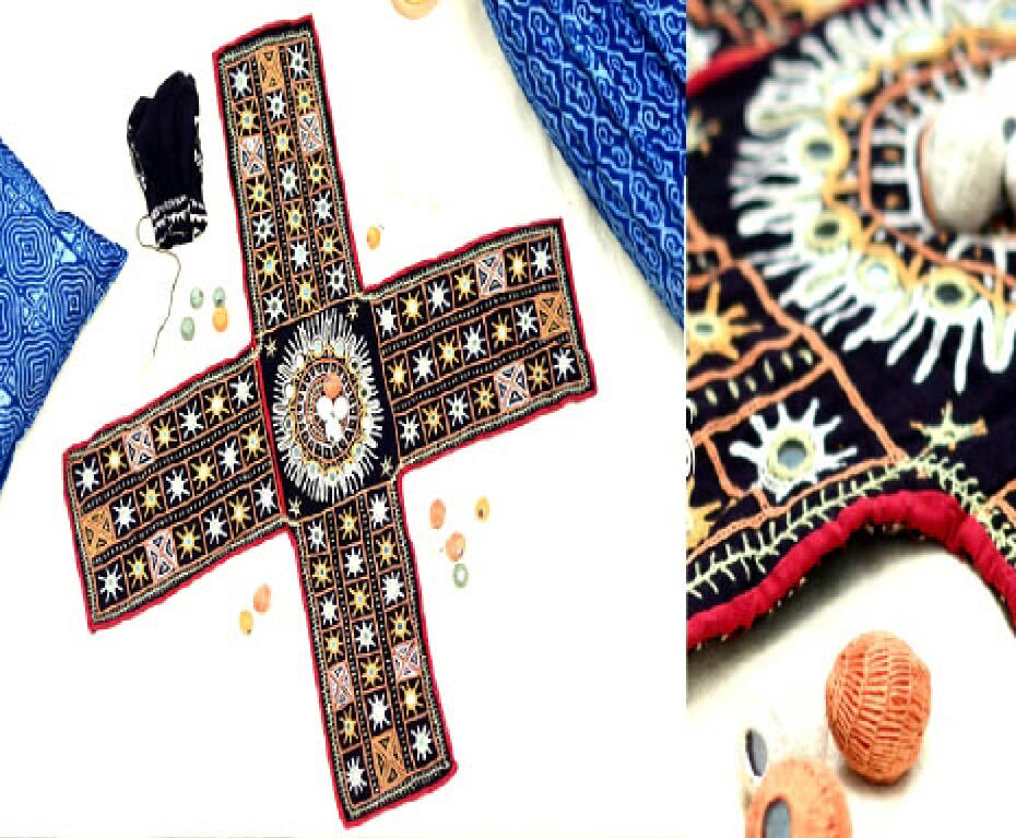 Pagade: patchwork & handembroidered