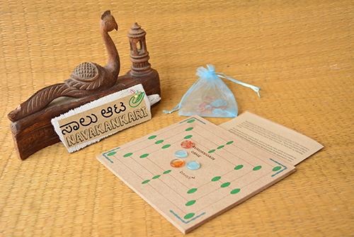 Navakankari game set-fibreboard
