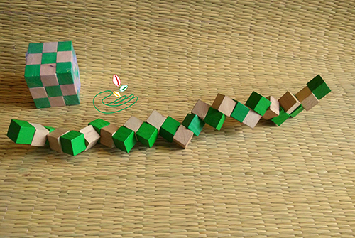 Snake Cube Puzzle