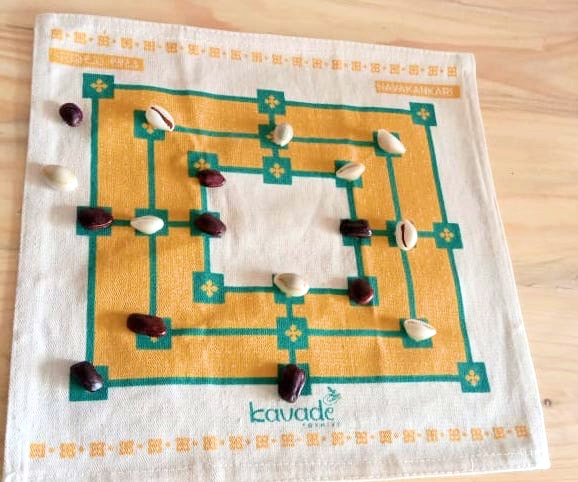 Navakankari game in canvas
