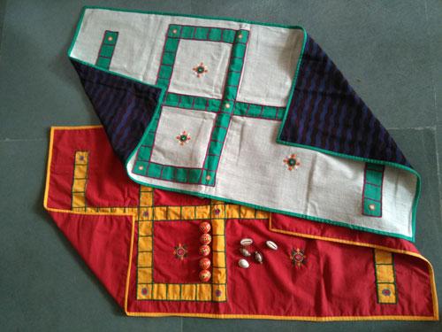 Bhadrakattam Embroidered