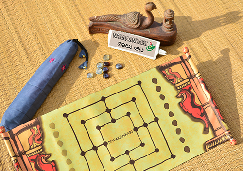 Navakankari game set (Temple series Scroll)