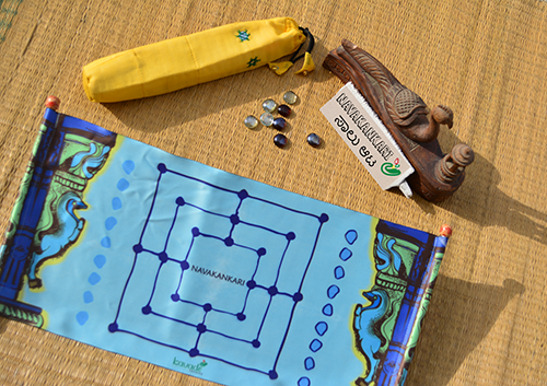 Navakankari game set (Temple series Scroll)
